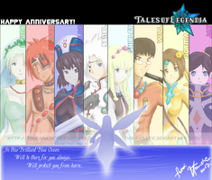 ToL::Anniversary by vikifanatic