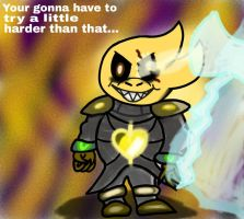 Underswap Alphys the AllLiving!!! (Crap Edition) by ZeketheFartist