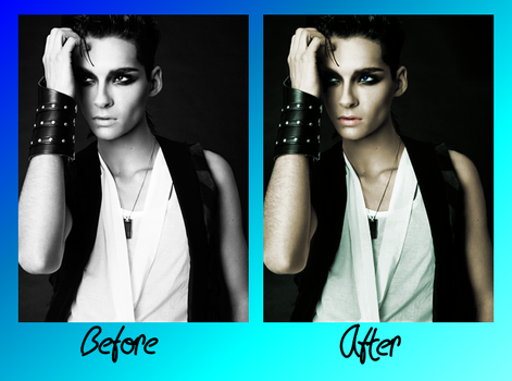 Before and After Bill Colorized by Mousi-Mikki
