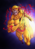 Reverse Flash by Sorathepanda