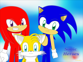 Sonic Heroes by NomadNoita