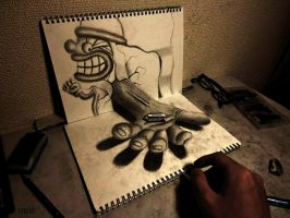 3D Drawing - Dealings by NAGAIHIDEYUKI