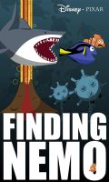 Finding Nemo Movie Poster by MikeFerguson