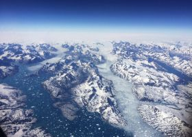 flying over greenland by wam17