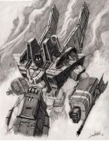 Starscream_smoke version by LivioRamondelli