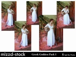 Greek Goddess Pack 1 by mizzd-stock