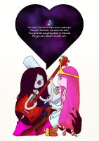 Marceline Serenades a Scientist by illeity