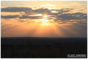 Africa 12: The Sun Rise by JR-Dept