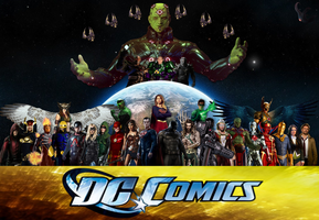 DC Comics: Invasion! V.2. by Camo-Flauge