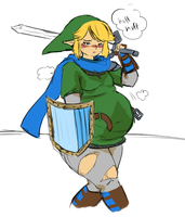 Never Too Fat To Save Hyrule! by CakeHoarder