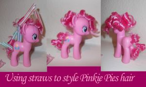 Tip to Style Pinkie Pies Hair by bluepaws21