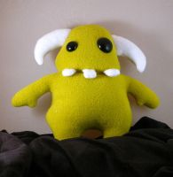 Green Monster Plush by suzannahashley