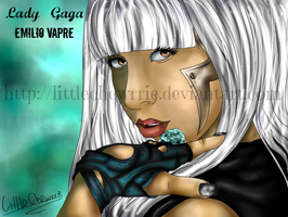 LADY GAGA by LittleChewrrie