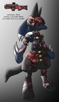 MikeGTS Lucario Armor by MikeGTS