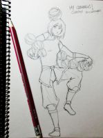 My cabbages!! (sketchy sketch) by lauralaima