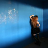 the blue wall by m-lucia
