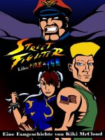 Streetfighter Fanfiction Cover by KikiMcCloud
