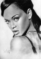 Rihanna 2014 drawing by MissRoxyMFC