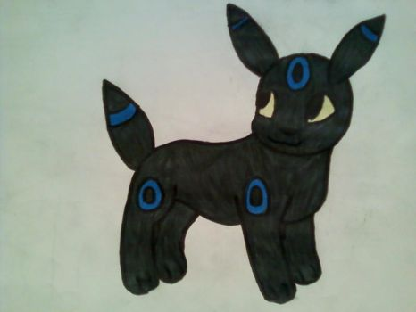 Shiny Cute Umbreon by pennypenny123