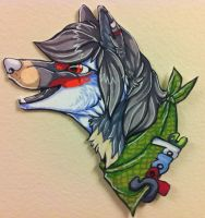 Spade badge commission by nightspiritwing