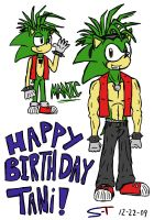 Happy B-day Tani 09 by Sonic-Toad