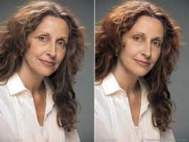 Wrinkles Retouch Before and After by Krisu00r34