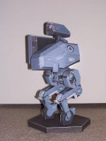 Metal Gear Solid 4: Metal Gear MKII Papercraft by bratchny