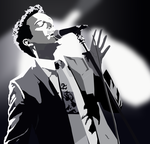 Brandon Flowers - Commission by stellenero