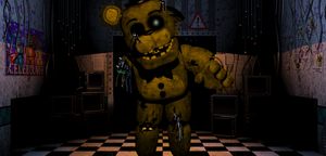 Five Nights at Freddy's - Fredbears in the office by hero13gamer