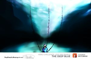 Solitude -The Deep Blue Contest- by HowlingArc