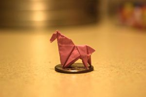 Origami Horse by singreadeat