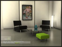 Global Illumination LivingRoom by robot51ck