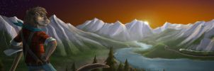Banner Ad Contest - BlueKoinu - 2nd Place by Vancoufur