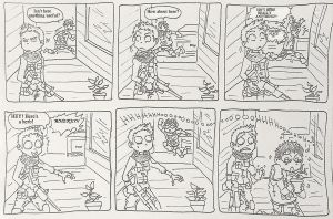 RE6 Adventures of Chris and Piers - a Herb by Hukkis