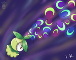 Petilil used magical leaf by Cookies64