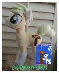 My little pony commission plushie CHANCE by CINNAMON-STITCH