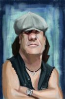 Brian Johnson by keizler