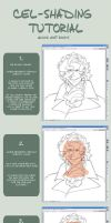 easy cel-shading tutorial by chirart