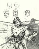 Superman Chained by Lun-K