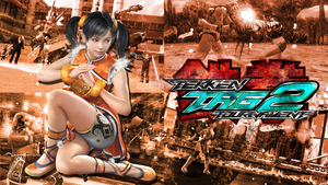 Tekken Tag Tournament 2 - Ling Xiaoyu Wallpaper by Elvin-Jomar