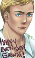 Birthday Erwin by Xiaooyu