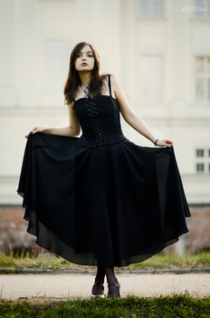 Black on white [2] by Luin-Tinuviel