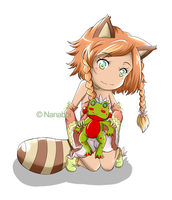 CMS: Racoon Girl by Nanabbi