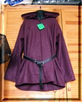 Purple Hooded Tunic by Thaly