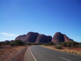 Road to Kata Tjuta by CAStock