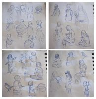 Playpark Sketching by whisperelmwood
