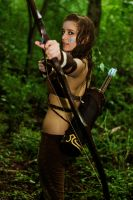 Woad Ashe Cosplay 2 by aeneia