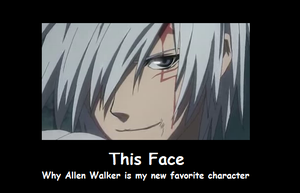 Allen Walker sexyface demote by GenkixIno