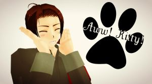Aww! Kitty! - China! by Quincy1313