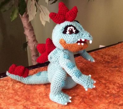 Totodile by Dwest64